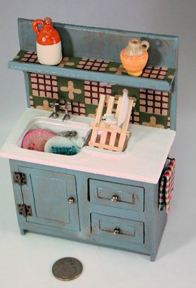 Aunt Ellie S Miniatures Handmade Dollhouse Furniture